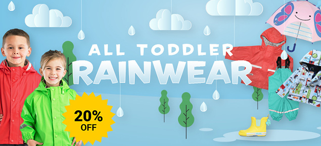 Baby & Toddler Rainwear Sale