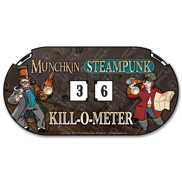 Munchkin: Steampunk - Kill-O-Meter