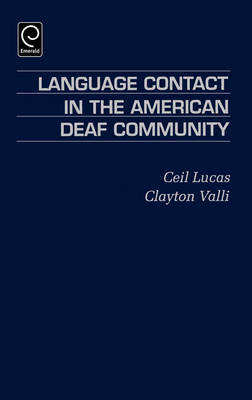 Language Contact in the American Deaf Community by Ceil Lucas image