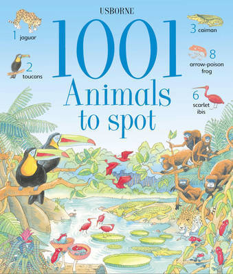 1001 Animals to Spot by Gillian Doherty