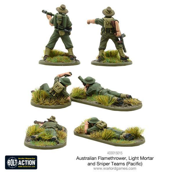Australian Weapons Teams (Pacific) image