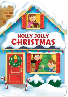 Christmas House Board Book Holly Jolly Christmas image