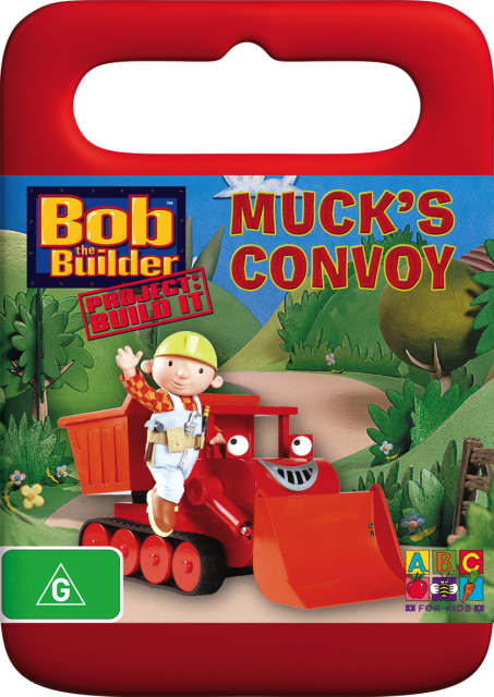 Bob The Builder - Muck's Convoy on DVD image