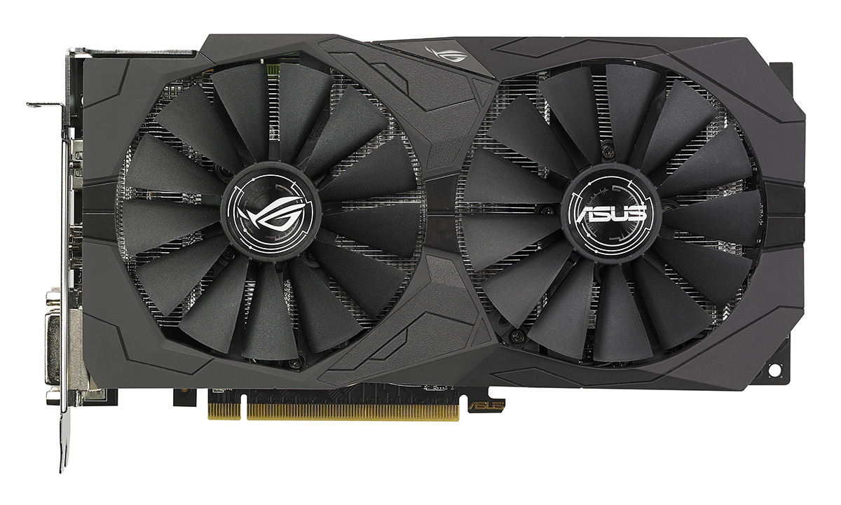 ASUS ROG Strix RX570 4GB Graphics Card image