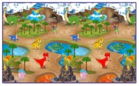 Rollmatz: Large Playmat - Dinosaur Park