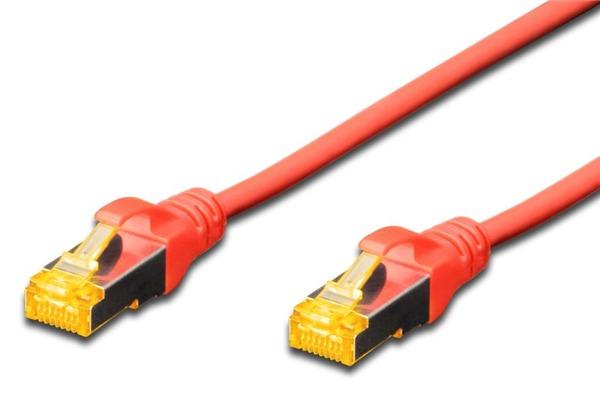 Digitus: UTP CAT6A Patch Lead - 0.5M Red