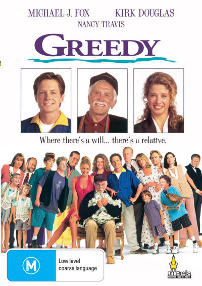 Greedy on DVD image