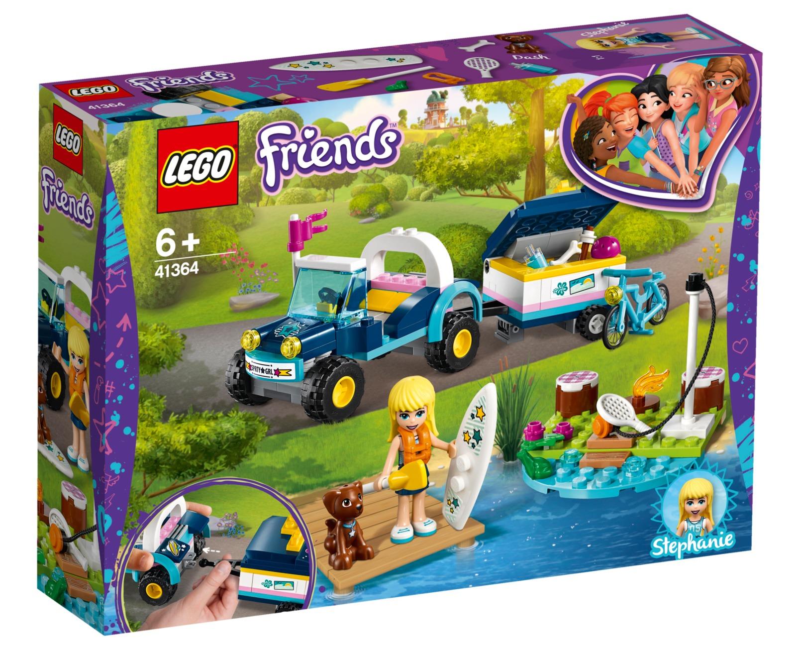 LEGO Friends: Stephanie's Buggy & Trailer (41364) image