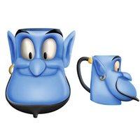 Disney Aladdin Genie Face Ceramic 3D Sculpted Mug