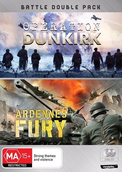 Battle Double: Operation Dunkirk & Ardennes Fury on DVD image