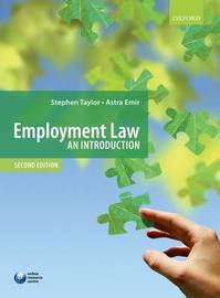 Employment Law by Stephen Taylor image