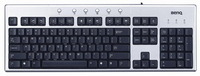 BenQ A122 Silver / Black Keyboard USB & PS2 image