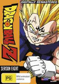 Dragon Ball Z - Season 8 on DVD