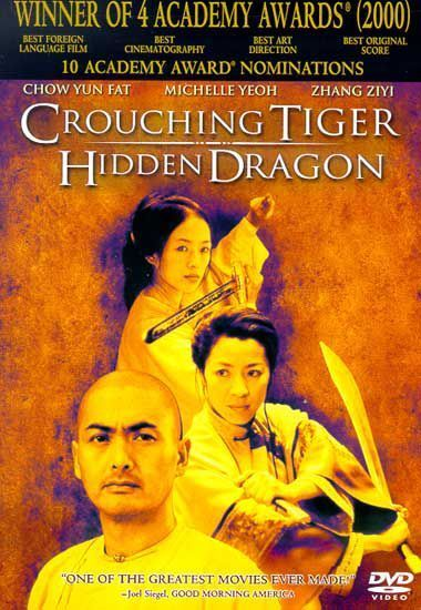 Crouching Tiger, Hidden Dragon on DVD