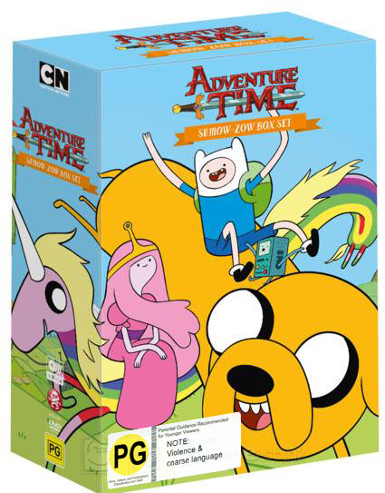 Adventure Time Shmow-Zow Box Set on DVD