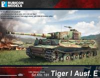 Rubicon 1/56 Tiger I Ausf E