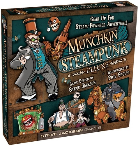 Munchkin: Steampunk - Deluxe Edition image