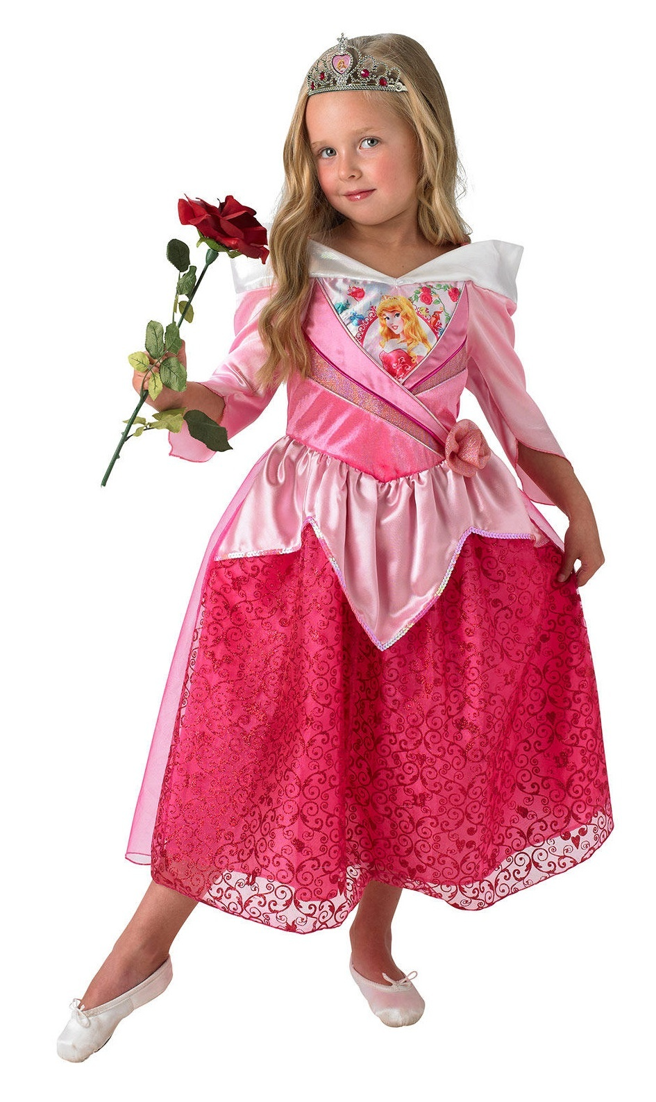 Disney: Kids Sleeping Beauty Shimmer Dress - (Small) image