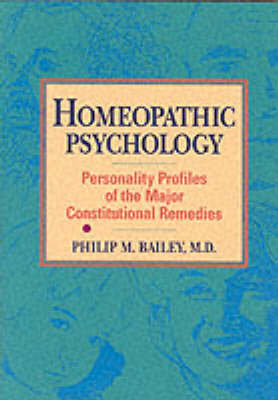 Homeopathic Psychology by Philip Bailey image