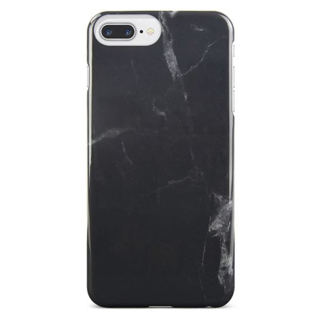 Gecko Designer Profile Case for iPhone 7/6/6s Plus - Black Marble