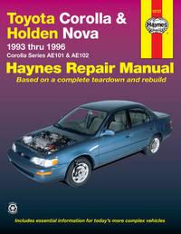 Toyota Corolla & Holden Nova (93 - 96) by Jeff Killingsworth
