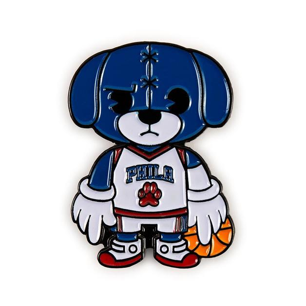 NBA: Philadelphia 76'ers - Franklin Mascot Enamel Pin