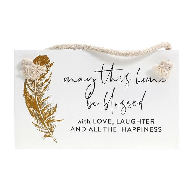 Splosh: Tranquil Happiness Hanging Sign