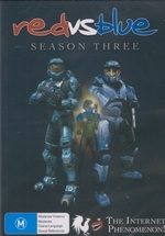 Red vs. Blue - Season Three on DVD