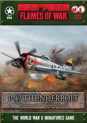Flames of War - P-47 Thunderbolt (1:144) | at Mighty Ape