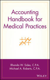 Accounting Handbook for Medical Practices by Rhonda W. Sides image
