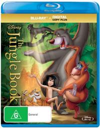 The Jungle Book (1967) on Blu-ray
