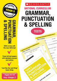 Grammar, Punctuation and Spelling Test - Year 5 by Lesley Fletcher