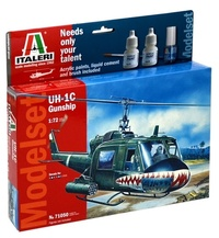 Italeri: 1/72 UH - 1C Gunship - Model Kit