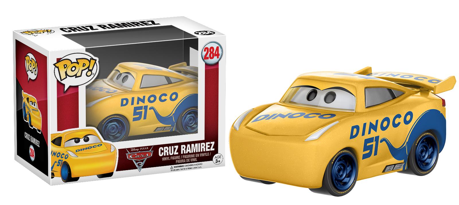 Cars 3 - Cruz Ramirez Pop! Vinyl Figure image