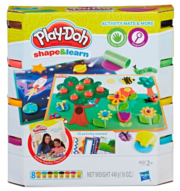 Play-Doh: Shape & Learn Activity Mats & More