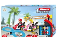 Carrera: First - Mario Kart Slot Car Set (Mario/Peach)