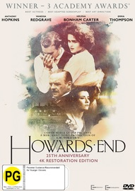 Howard's End: 25th Anniversary Edition on DVD