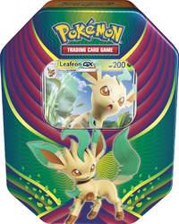 Pokemon TCG: Evolution Celebration Tin - Leafeon