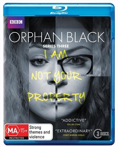 Orphan Black: Series 3 on Blu-ray