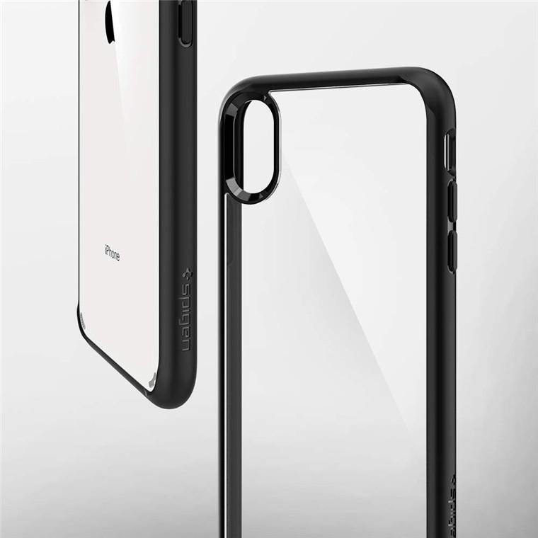 uk availability 585bd f7c01 Spigen: Ultra Hybrid Case for iPhone XS - Black