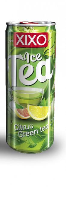 XIXO Ice Tea Citrus Green Tea 250ml 24pk