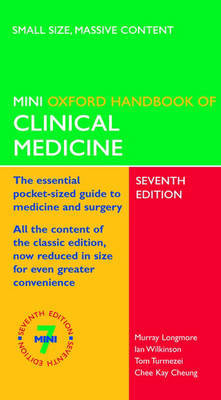 Oxford Handbook of Clinical Medicine by Murray Longmore image