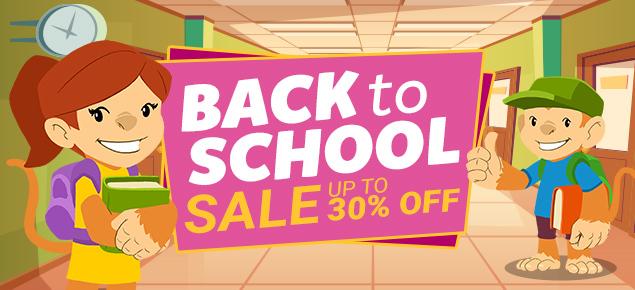 Back to School Sale!