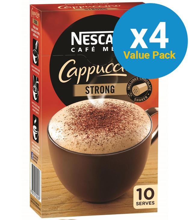 Nescafe Café Menu (Cappucino Strong, 40pk)