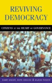 Reviving Democracy by Barry Knight image