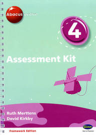 Abacus Evolve Year 4 Assessment Kit Framework by Ruth Merttens image