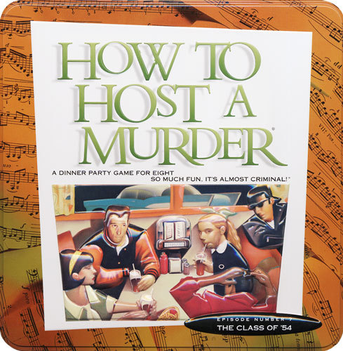 How to HOST A MURDER for 8 - Class of '54 (Tin Edition)