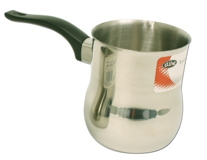 Turkish Stainless Steel Coffee Pot - 650ml
