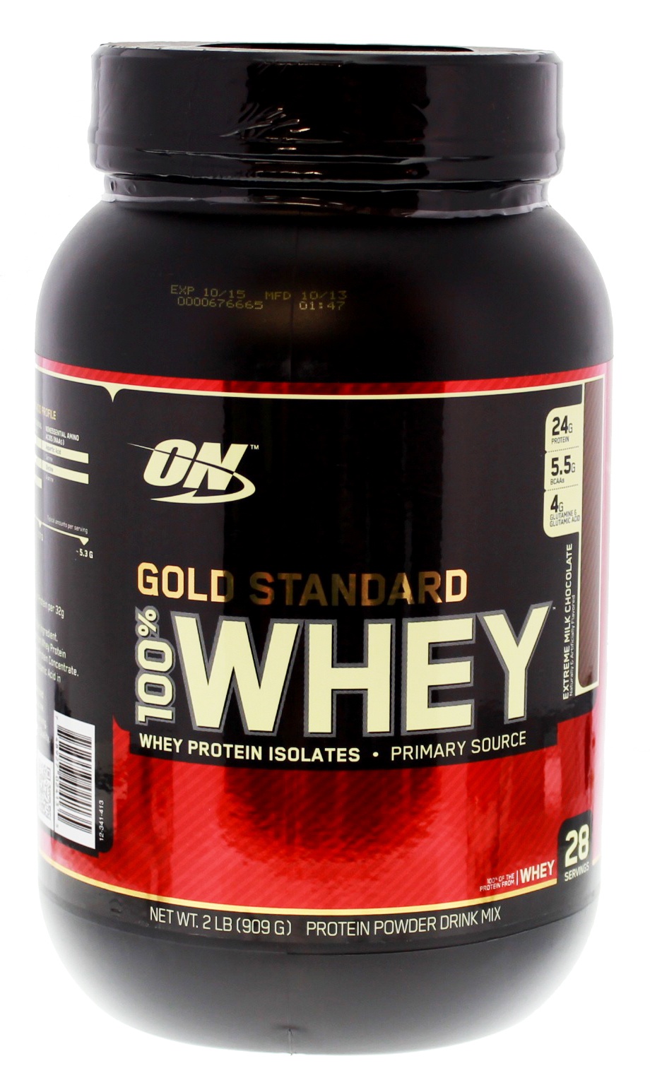 Optimum Nutrition Gold Standard 100% Whey - Extreme Milk Chocolate (907g) image
