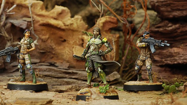 Saladin - Liaison Officer (Combi Rifle)